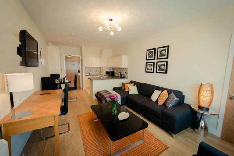 Aspect Hotel Park West apartment spacious Lounge