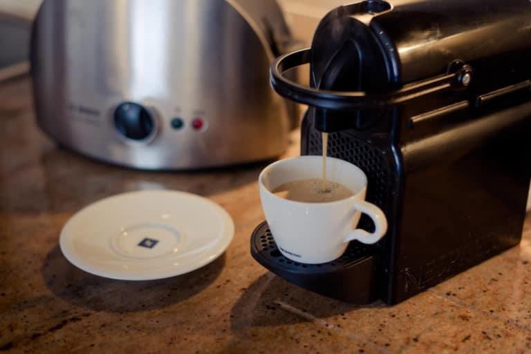 PREMIER SUITES PLUS Dublin Leeson Street closeup of coffee machine