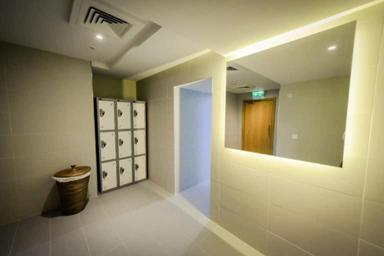 PREMIER SUITES PLUS Dublin Ballsbridge Changing Rooms